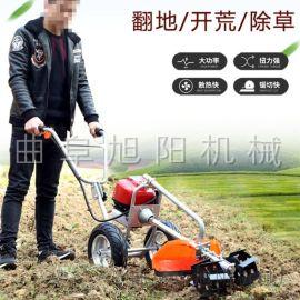 廠家生產手推式割草機汽油四衝程鋤草機