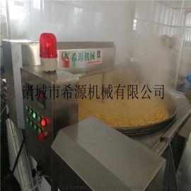 电加热豆泡油炸锅 豆腐泡油炸深加工设备供应商