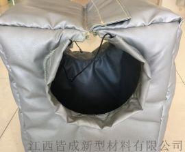 柔性异形可拆卸防火防水阀门保温套