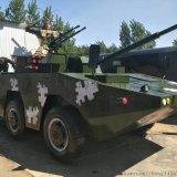 大型仿真8轮装甲车军事模型
