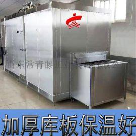 出口品质多功能速冻机 大枣低温速冻机【变频传送】
