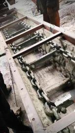 MS刮板机 输灰机煤粉灰输送机 双链条刮板机