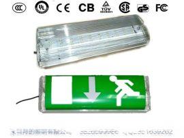 登峰牌LED应急壁灯防水防雾消防标志