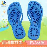 新款人字拖鞋定制女式EVA镂空底防滑韩版沙滩拖鞋浴室凉拖鞋