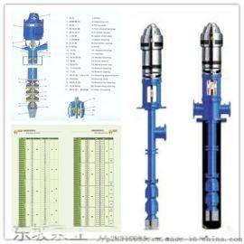 长轴深井泵 立式潜水深井泵 天津热水潜水泵