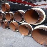 佳木斯 鑫龍日升 聚氨酯保溫管發泡dn65/76預製保溫埋地鋼管