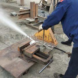 水切割机高压水刀水射流装置水刀切割机化工便携式小型