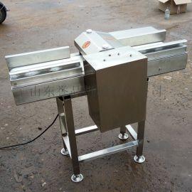 全自动猪腰切花机不锈钢输送带式牛鞭切花机
