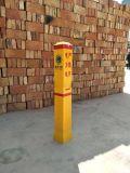 限高标志桩 前方施工玻璃钢标志桩 滑道警告牌现货