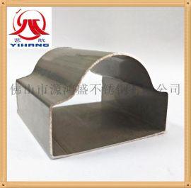 厂家直销不锈钢扶手管 304不锈钢管 不锈钢异型管