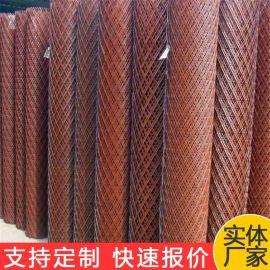 镀锌钢板网 洛阳电镀锌菱形钢板网 重型镀锌菱形拉伸网生产厂家