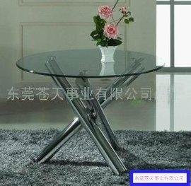 家居不锈钢餐桌(CTZ—001)