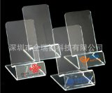 供应亚克力手机展示架 卖场专柜 柜台有机玻璃手机托架加工订做