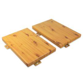 氟碳铝单板幕墙厂家定制规格木纹铝单板金属材料铝单板