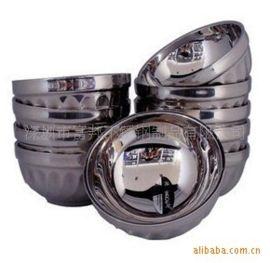 不锈钢玉兰碗 百合碗 不锈钢碗 防烫耐摔碗