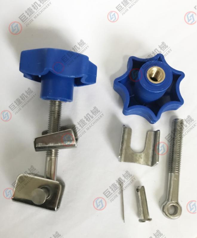 现货供应人孔配件 塑料手轮 带折耳手轮全套