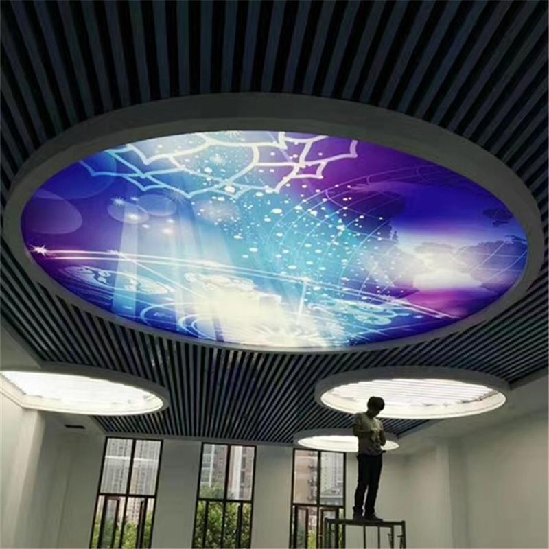 户外卡布软膜灯箱铝合金软膜无边发光灯箱广告牌LED灯箱定制