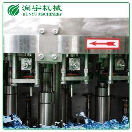 润宇机械厂家现货直销含气饮料灌装机,碳酸饮料玻璃瓶灌装机
