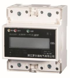 DDS5881型单相导轨式电能表带RS485通讯接口4P液晶显示厂家直销