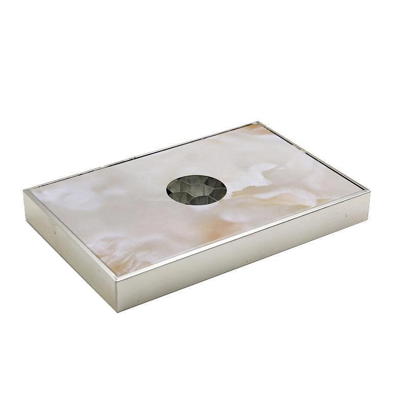 蜂窩芯鋁單板廠家環保天花幕牆隔斷吸音隔熱鋁蜂窩鋁板