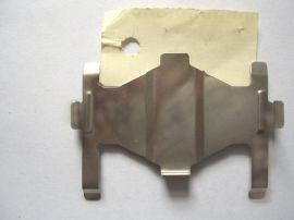 供應多種汽車剎車片卡簧 卡扣 不鏽鋼衝壓件 異形件
