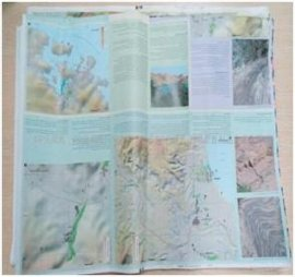 防水防撕旅游地图专用PP合成纸