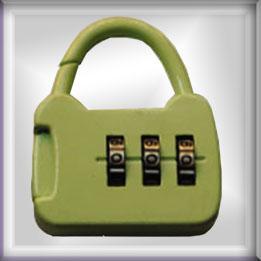 箱包配件密码锁