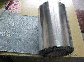 加厚耐高温隔热防水铝膜胶带 防辐射屏蔽自粘铝箔胶布