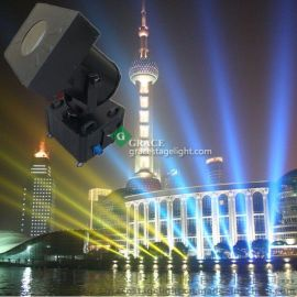直销 户外2000W摇头变色探照灯 大型激光扫描灯 七彩空中玫瑰灯