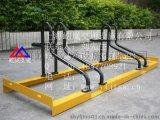 自行车存车架卡位式 街道电动车存车架 自行车存车架