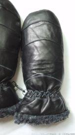 羊皮包套,情侣款,保暖手套,厂家定做。