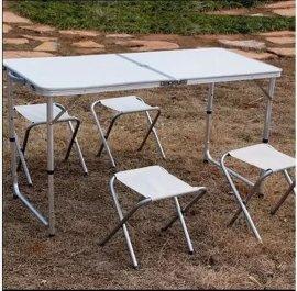 戶外摺疊桌椅 展業桌椅 燒烤露營餐桌 旅行休閒桌