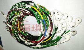 手工编织绕线耳机编织数据线