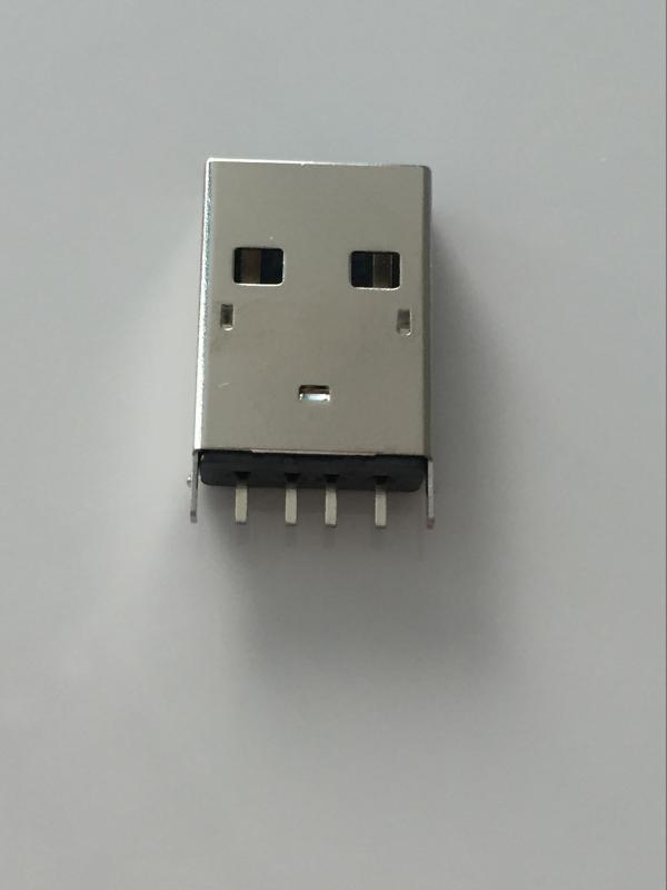 金达瑞供货USB **180度插板 USB 2.0 AM直插立式连接器
