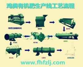 安徽芜湖鸡粪有机肥生产线齐全|乙鑫重工鸡粪有机肥生产线生产厂家