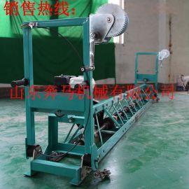 中铁12年合作5.5米砼振动梁 框架式混凝土整平机 路面摊铺机