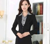 工廠定製高檔職業裝配褲套裝白領工作服韓版OL氣質正裝兩件套