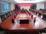 青海重庆会议桌美格液晶屏升降器台式会议话筒免费安装