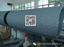 供应大口径耐高温伸缩风管,高温锅炉引风机软管