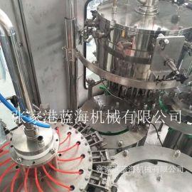 厂家定制口服液灌装机 全自动含气饮料灌装设备 瓶装水灌装机