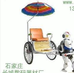 单座机器人拉车