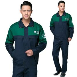 春秋電網工作服套裝男長袖電工工程服純棉電焊電力服
