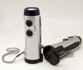 手摇收音机环保LED电筒(YDT-300)