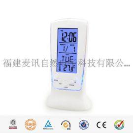 海榕 MD-8619 90*145*13.5厘米 LED触屏电子钟 卧室电子闹钟