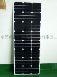 高效sunpower90w太陽能板