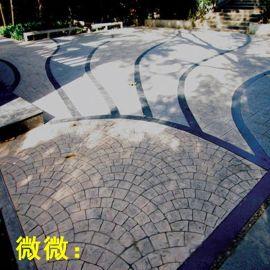 蚌埠彩色压印地坪仿石压印地坪