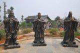 广东原著专业制作古代英雄人物雕塑 铸铜雕塑批发
