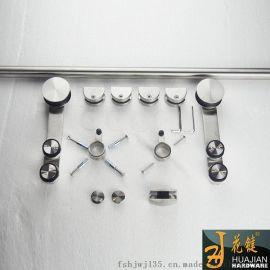畅销花键家居室内玻璃悬挂门吊轮01A不锈钢移门滑轮