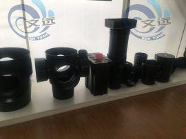 塑料污水檢查井_污水溜槽三通井_起始井_彎頭井