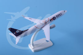 飞机模型B737-800圆通快递20厘米模型